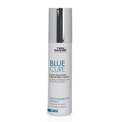 Blue Cure - Anti-pollution Repair Cream - Ten Image Professional