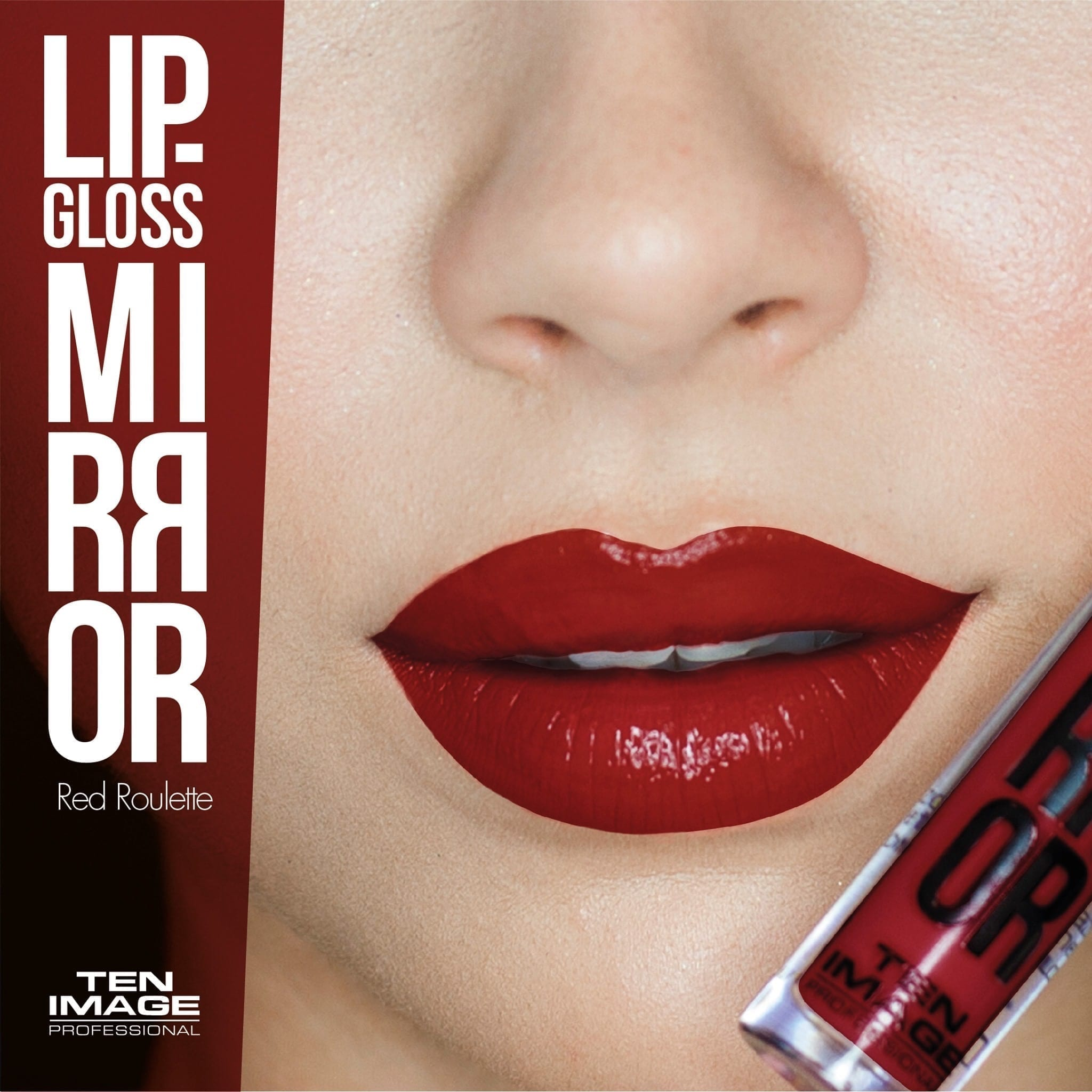 ML-01 Red Roulette - Mirror Lip Gloss - Ten Image Professional