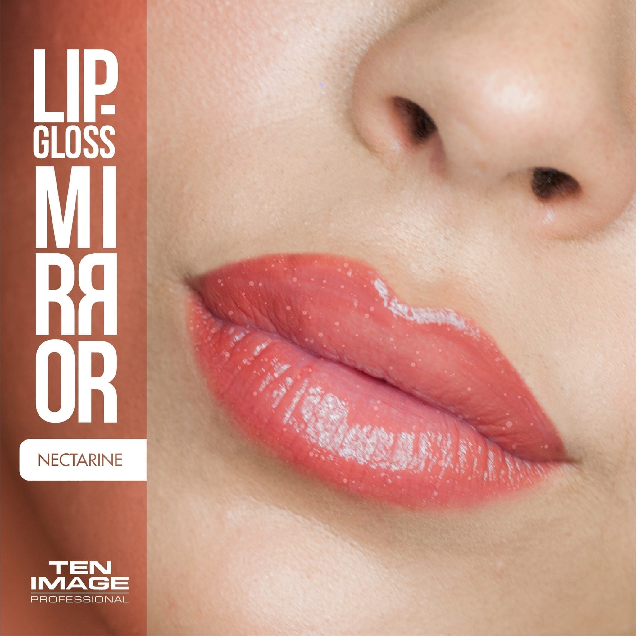 ML-07 Nectarine - Mirror Lip Gloss - Ten Image Professional